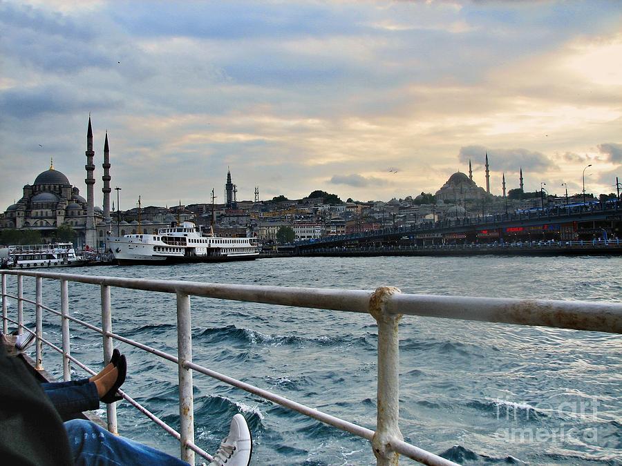Istanbul Photograph - Istanbul  by Bener Kavukcuoglu