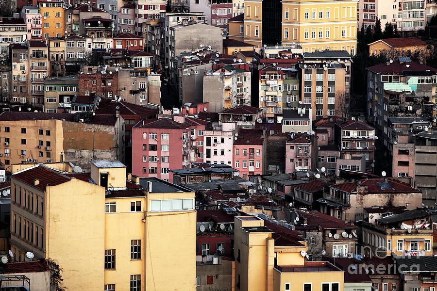 Cityscape Photograph - Istanbul Cityscape Vii by John Rizzuto