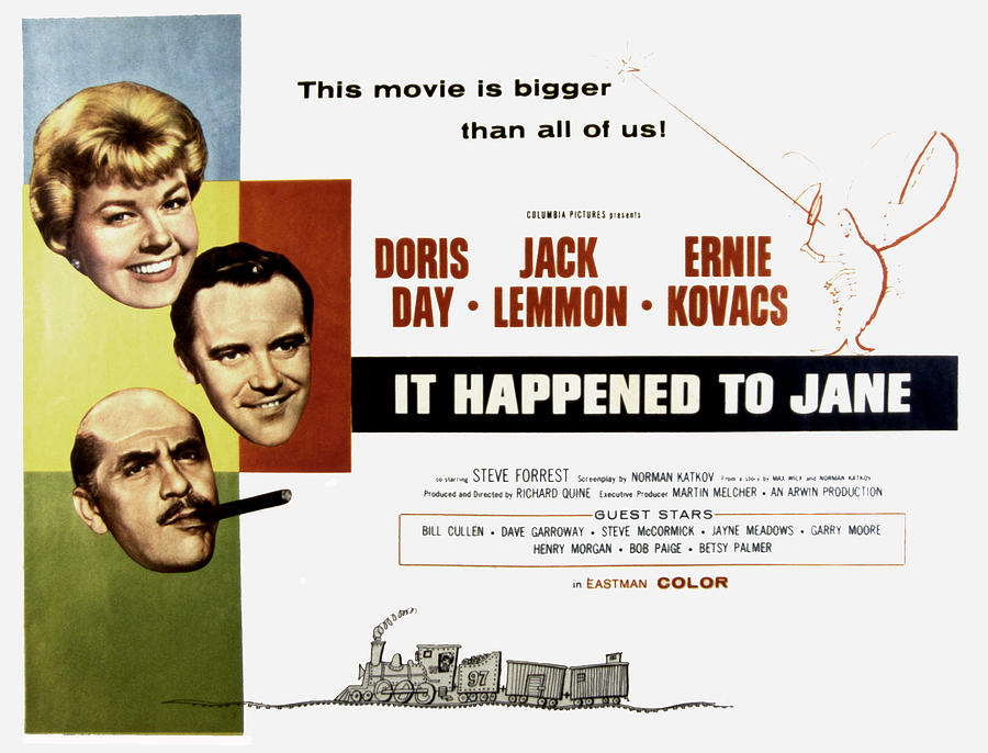 1950s Movies Photograph - It Happened To Jane, Doris Day, Jack by Everett