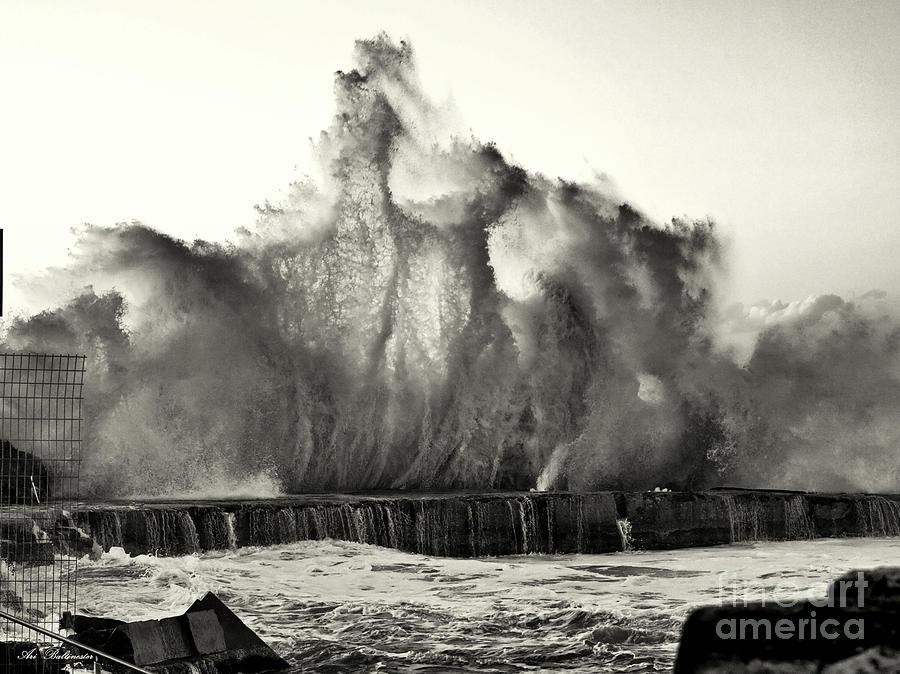 Neptun Photograph - It Seems That Neptun Is Nervous 04 by Arik Baltinester