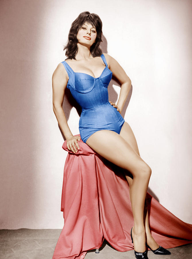 1960 Movies Photograph - It Started In Naples, Sophia Loren, 1960 by Everett