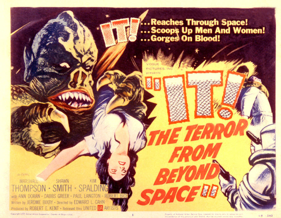 1958 Movies Photograph - It The Terror From Beyond Space, 1958 by Everett