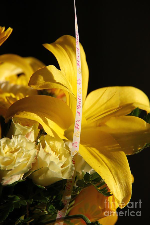Flower Photograph - Its A Girl by Mathew Warren