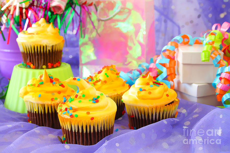 Cupcakes Photograph - Its A Party by Darren Fisher