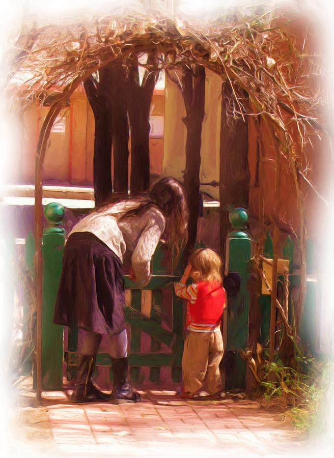 Mother Photograph - Its About The Gate by Feva  Fotos