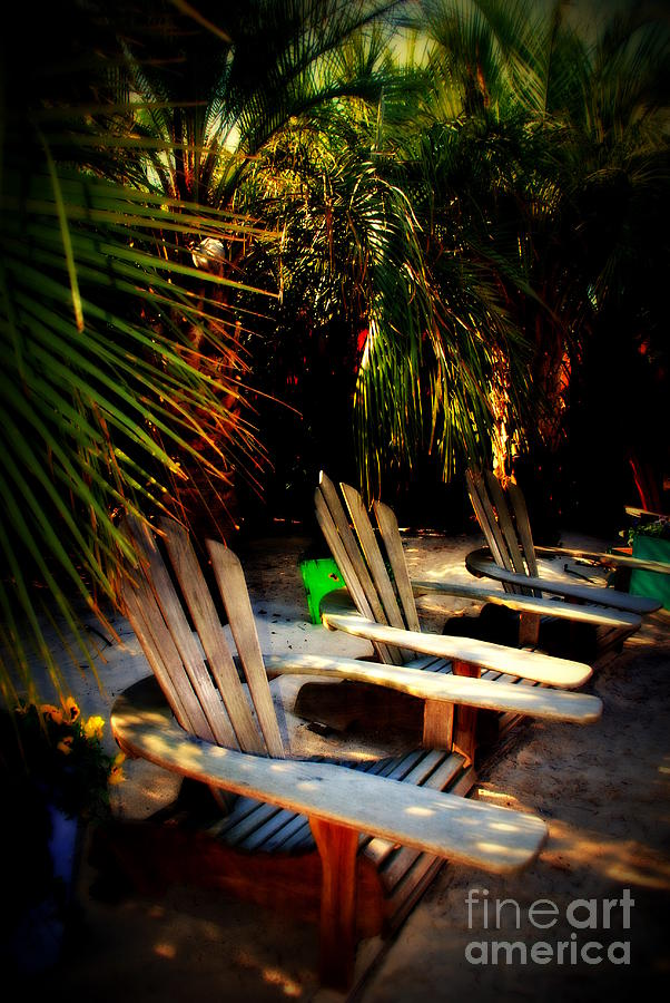 Beach Photograph - Its Margarita Time In Paradise by Susanne Van Hulst
