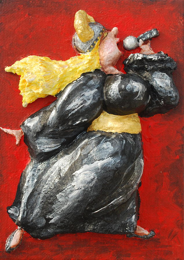 Fat Lady Relief - Its Not Over.... by Alison  Galvan