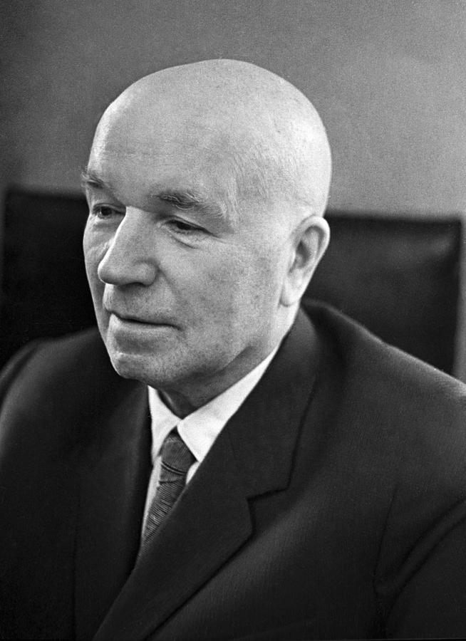 Portrait Photograph - Ivan Vinogradov, Soviet Mathematician by Ria Novosti