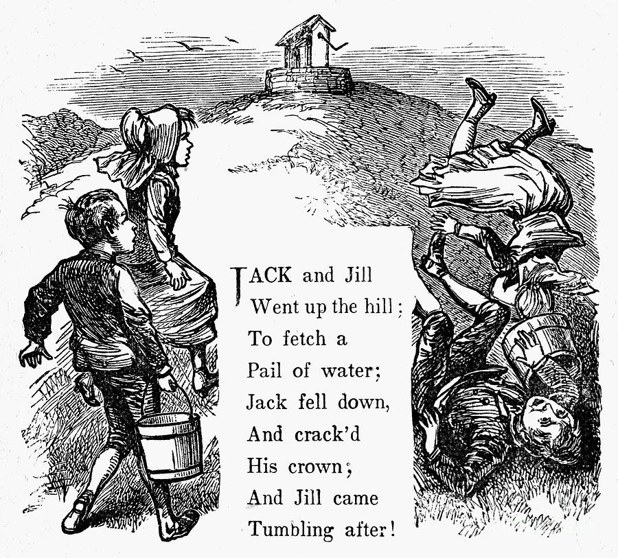 19th Century Photograph - Jack And Jill by Granger