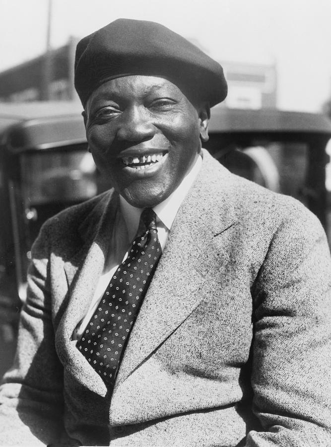 History Photograph - Jack Johnson 1878-1946, Former by Everett