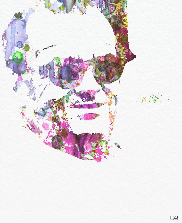 Easy Rider Digital Art - Jack Nicolson 2 by Naxart Studio