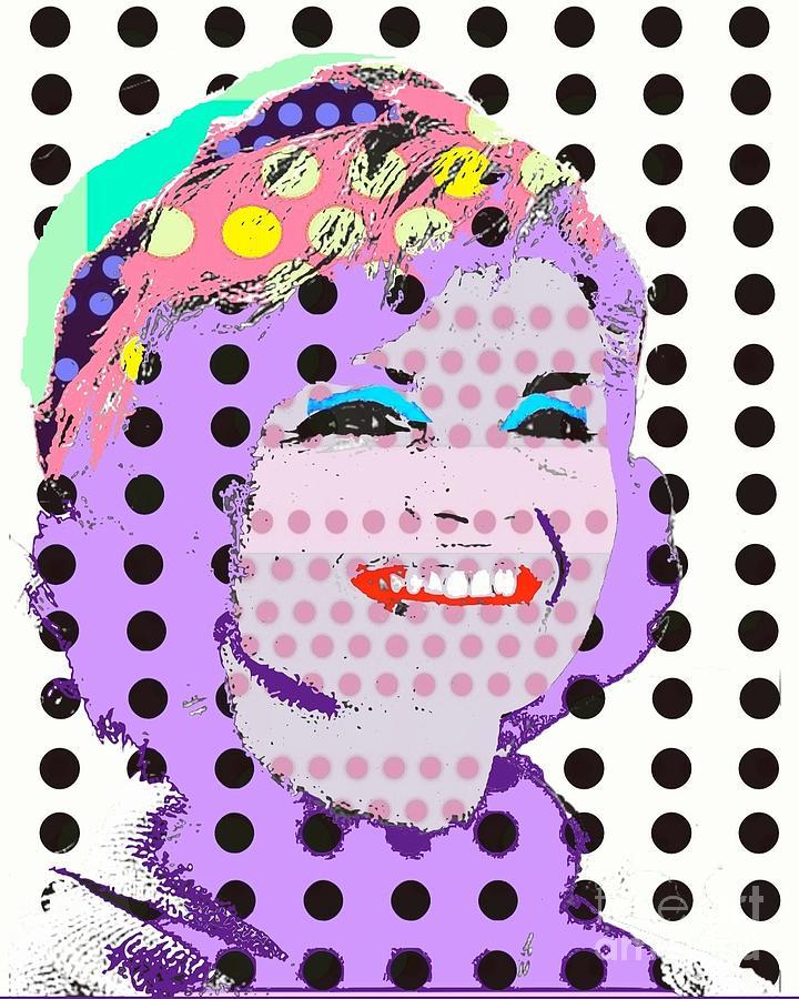 Jackie O Digital Art - Jackie O by Ricky Sencion