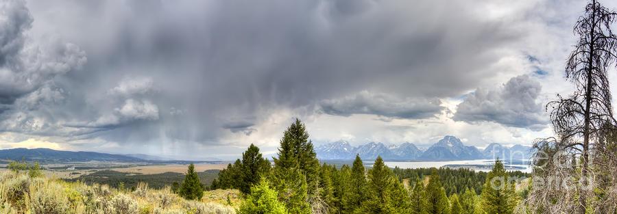 Jackson Hole Photograph - Jackson Hole Thunderstorms by Dustin K Ryan