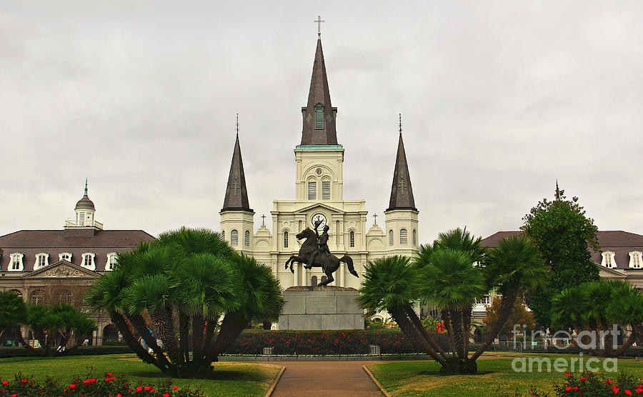 Jackson Square Photograph - Jackson Square by Perry Webster