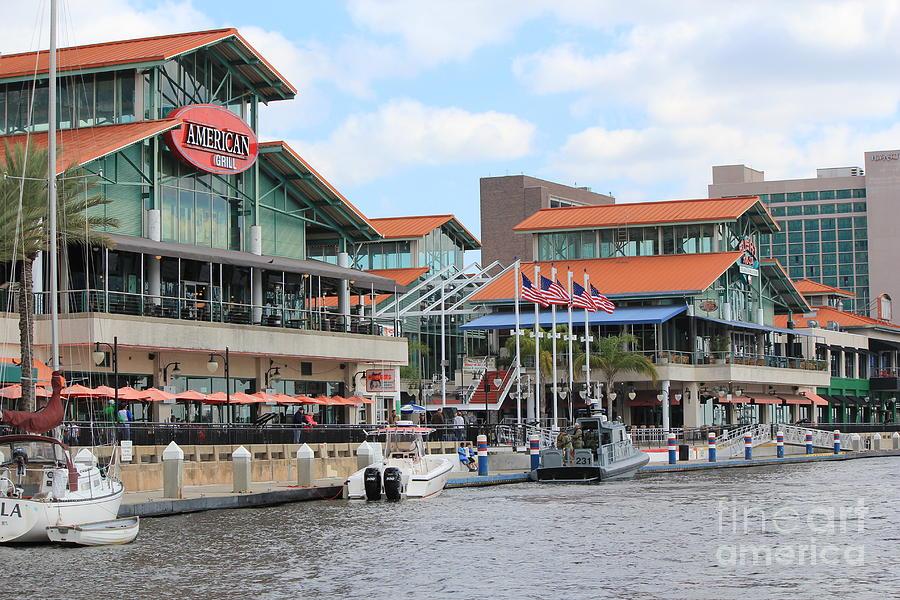 Jacksonville Florida Landing Photograph By Rod Andress