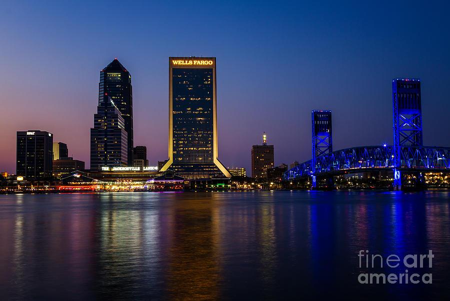 Free photo: Jacksonville, Florida Skyline - Buildings ...  |Jacksonville Florida Photography