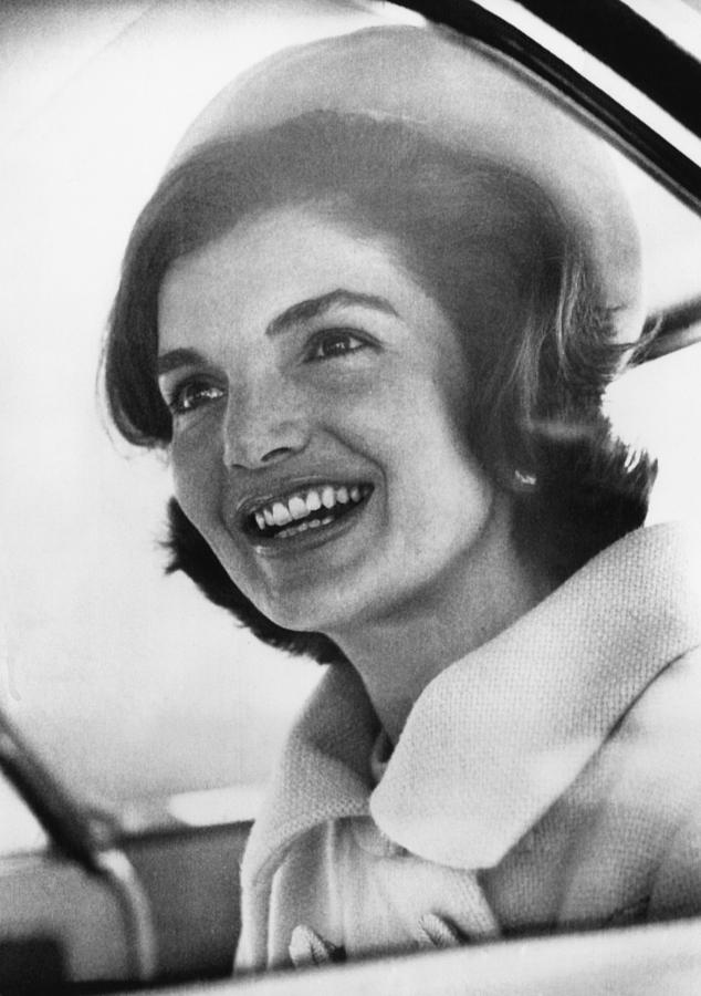 1960s Photograph - Jacqueline Kennedy, Arriving In New by Everett