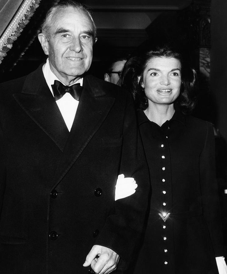 1960s Photograph - Jacqueline Kennedy In Her First Public by Everett