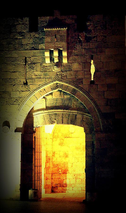 Jerusalem Photograph - Jaffagate by Amr Miqdadi
