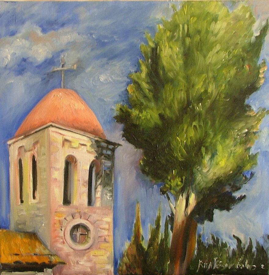 Painting Painting - Tel Aviv Jaffa by Rita Fetisov