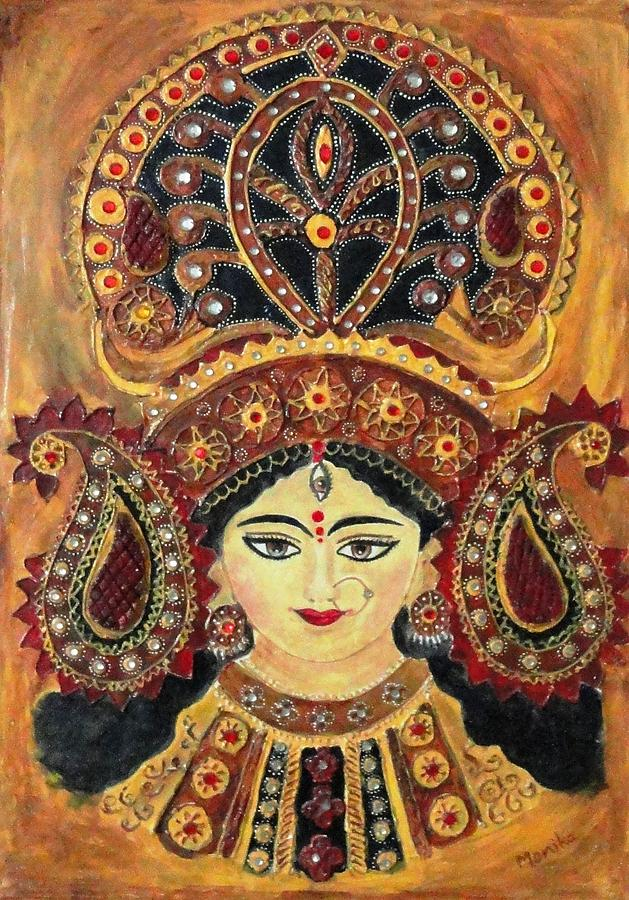 Jai Mata Di Painting By Monika Sharma