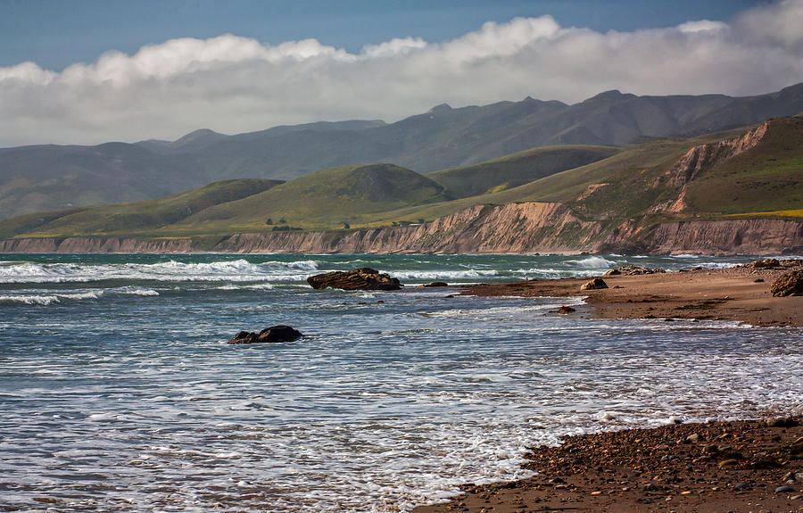 Beauty In Nature Photograph - Jalama Beach by Ken Wolter