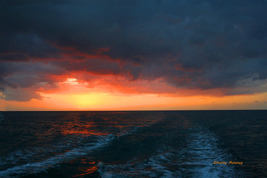 Jamaica Sunset by Kathy Maloney