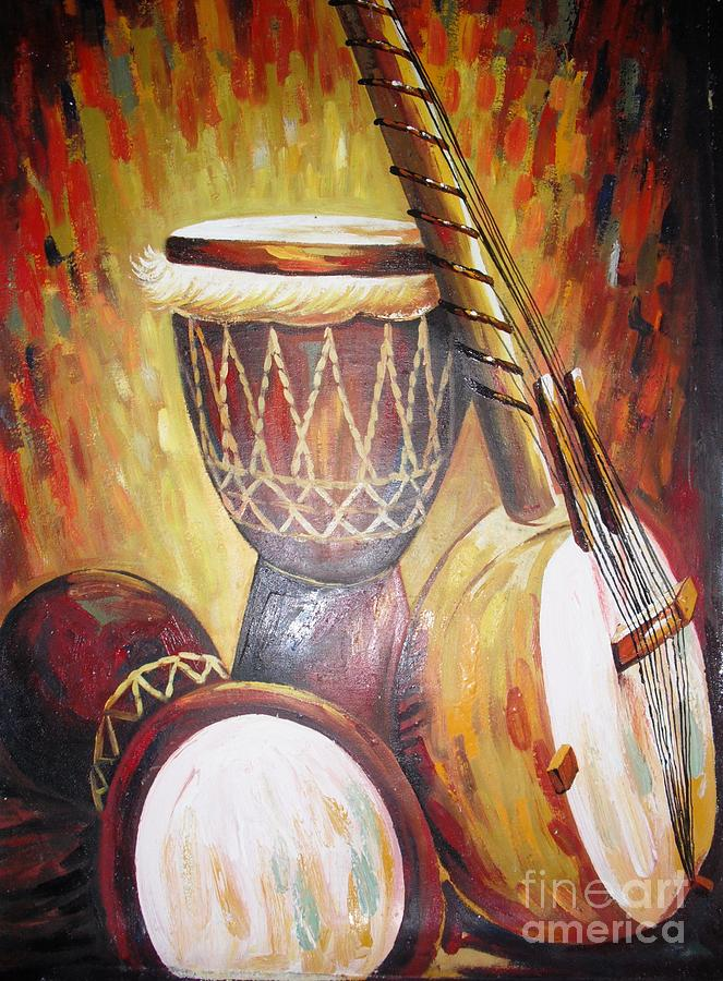 Jamba Painting by Dennis Spaine
