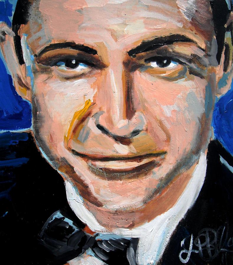 James Painting - James Bond  by Jon Baldwin  Art