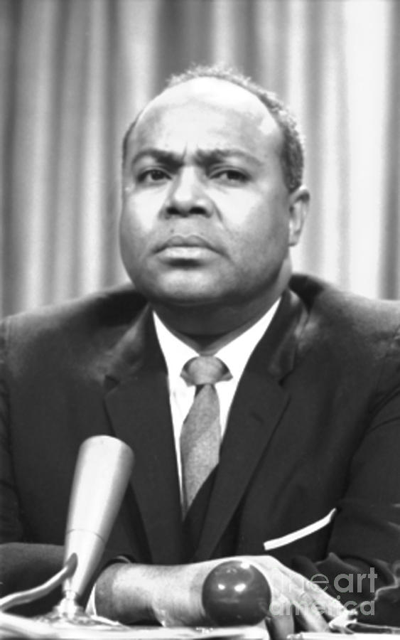 1964 Photograph - James Farmer (1920-1999) by Granger