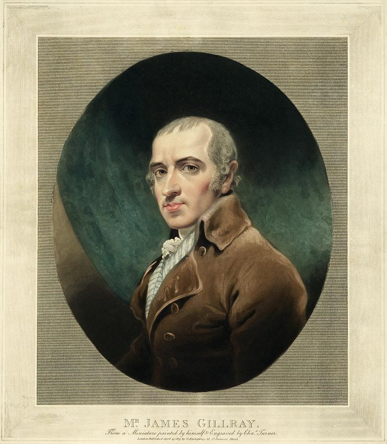 James Gillray Photograph - James Gillray, British Caricaturist by Miriam And Ira D. Wallach Division Of Art, Prints And Photographsnew York Public Library