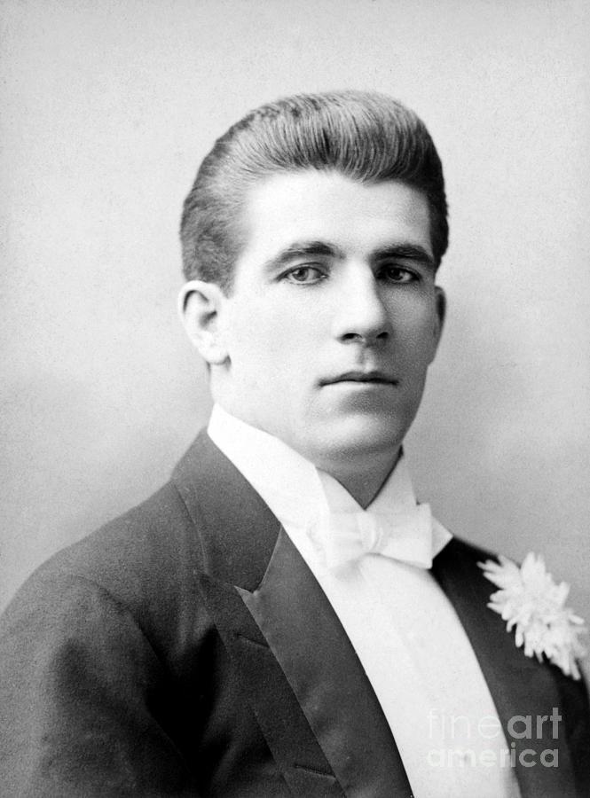 1893 Photograph - James J. Corbett by Granger