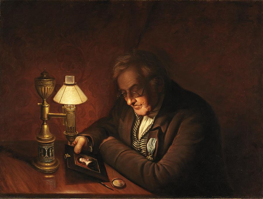 James Peale Painting By Charles Willson Peale
