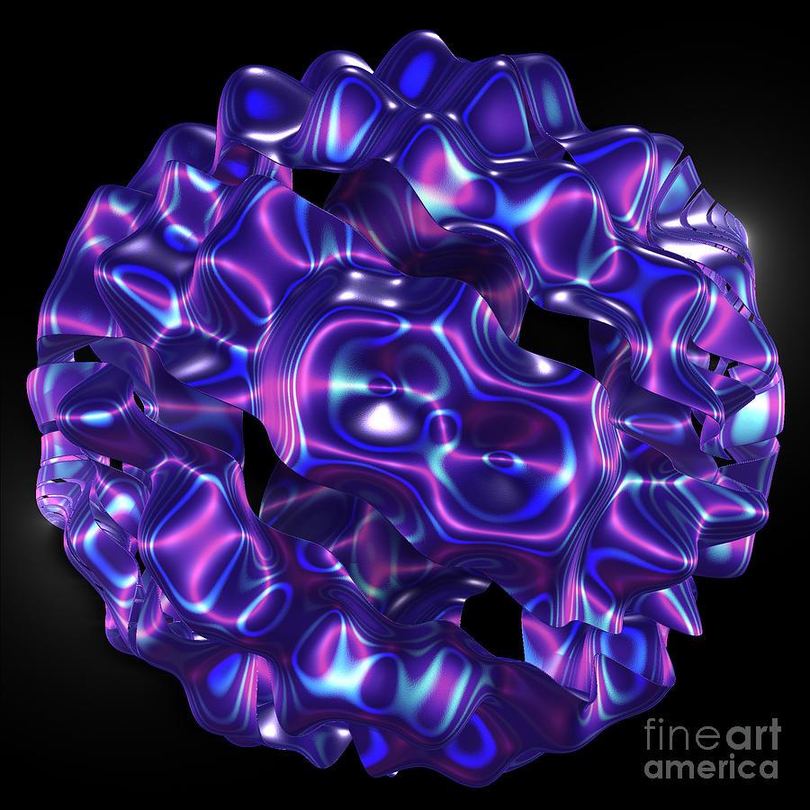 First Star Art By Jammer Digital Art - jammer Ornamental by First Star Art