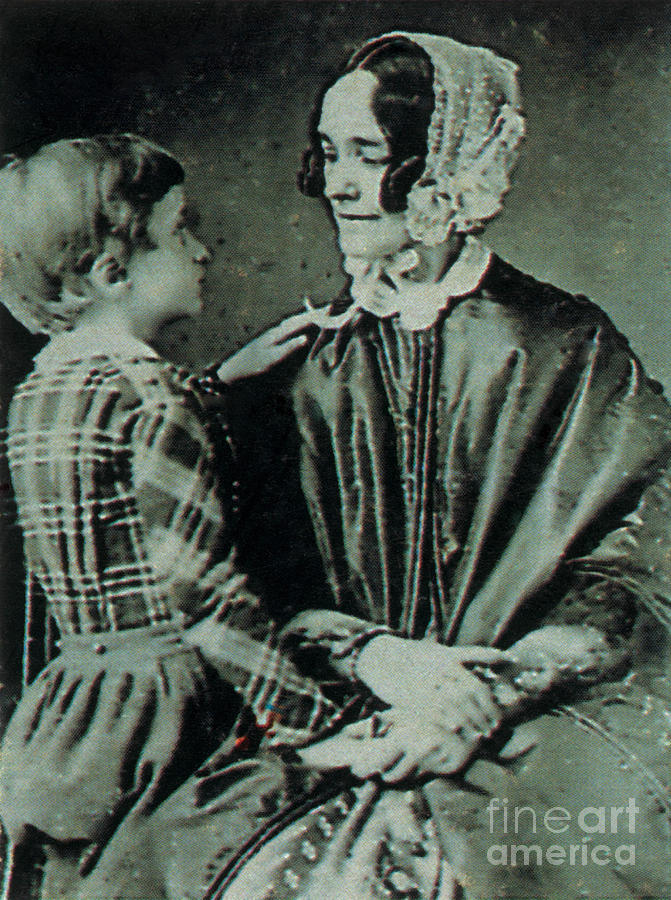 Jane Means Appleton Pierce Photograph - Jane Pierce by Photo Researchers