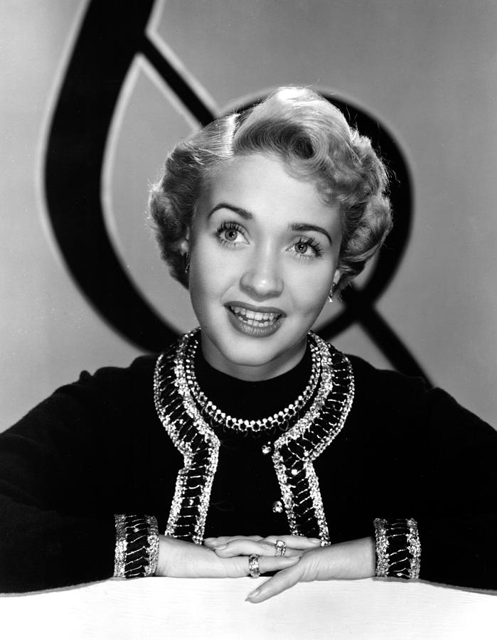 Earrings Photograph - Jane Powell, Mgm, Early 1950s by Everett