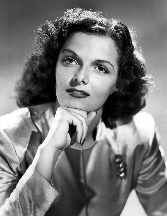 1940s Portraits Photograph - Jane Russell, Portrait Circa 1947 by Everett