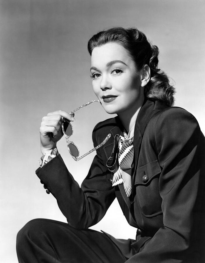 1940s Portraits Photograph - Jane Wyman, Warner Brothers, 1947 by Everett