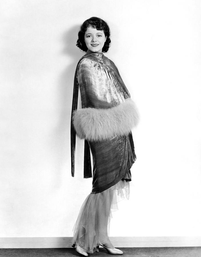 1920s Fashion Photograph - Janet Gaynor, 1929 by Everett