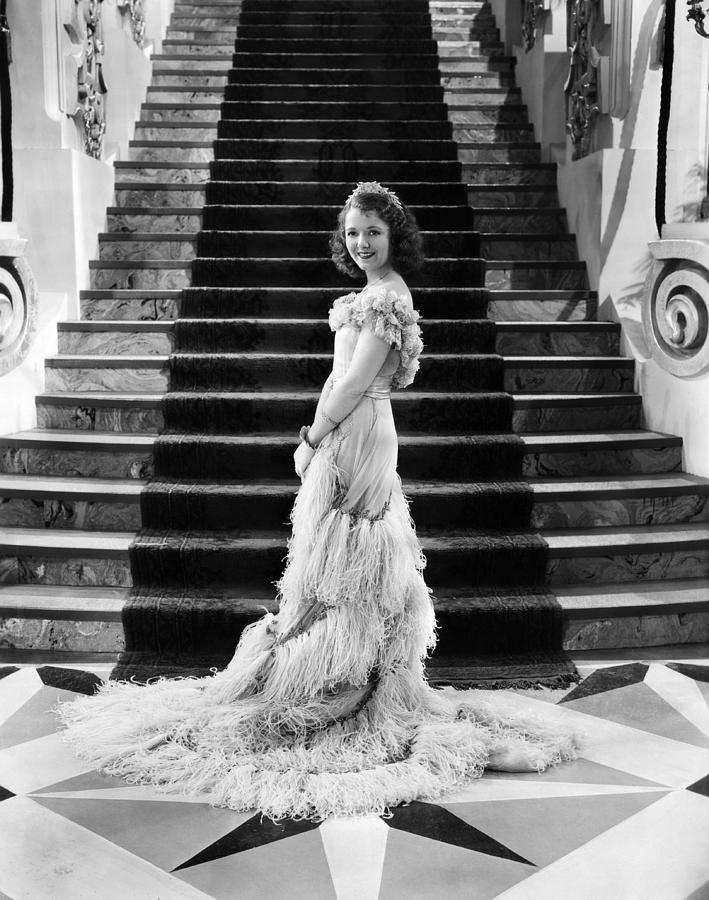 1930s Fashion Photograph - Janet Gaynor, 1933 by Everett
