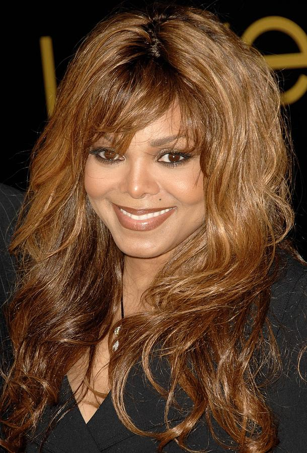 Launch Party Photograph - Janet Jackson At Arrivals For Cartier by Everett
