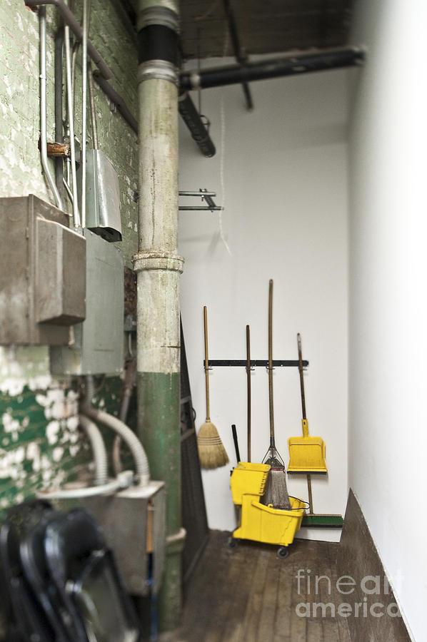 Beau Architecture Photograph   Janitor Closet By Eddy Joaquim