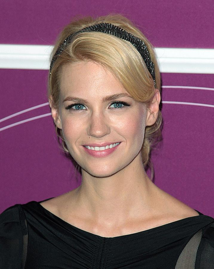 Awards Photograph - January Jones In Attendance by Everett