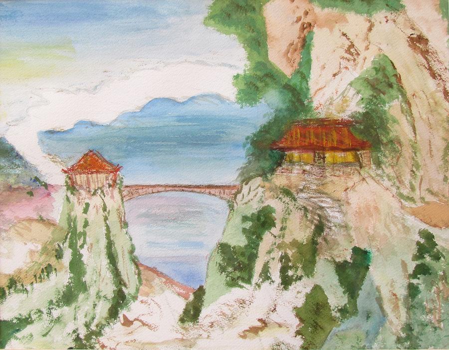 Japanese Bridge by Edie Schmoll