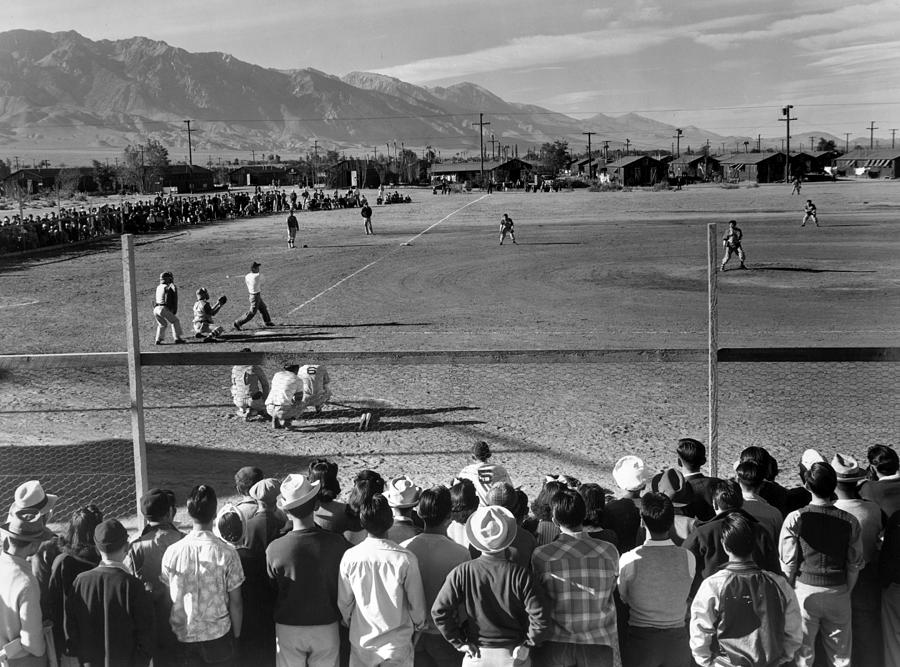 1943 Photograph - Japanese Internment, 1943 by Granger