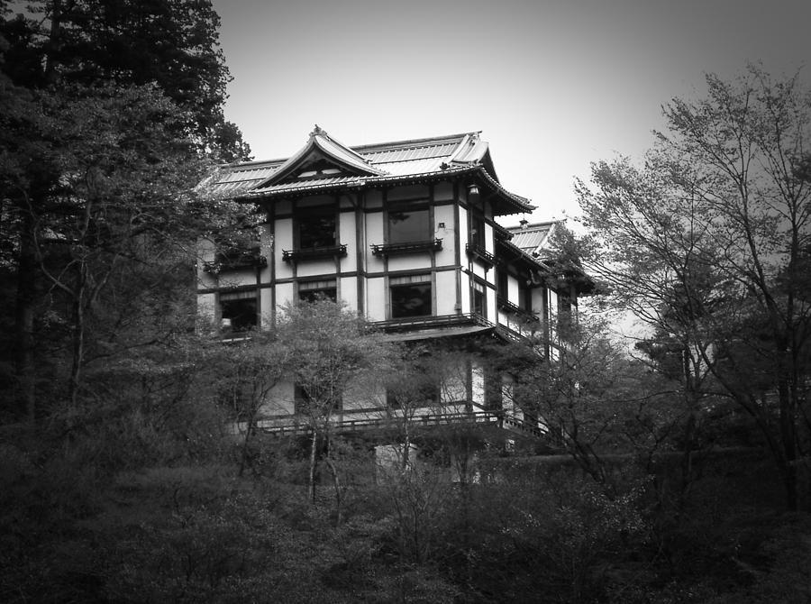Japan Photograph - Japanese Traditional House by Naxart Studio