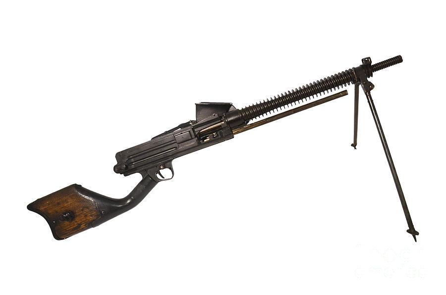 Single Object Photograph - Japanese Type 11 Light Machine Gun by Andrew Chittock