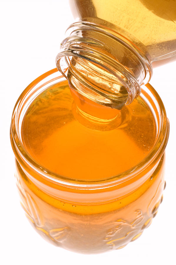 Honey Photograph - Jar Of Honey by Garry Gay