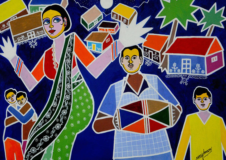 Jatara Painting by Johnson Moya