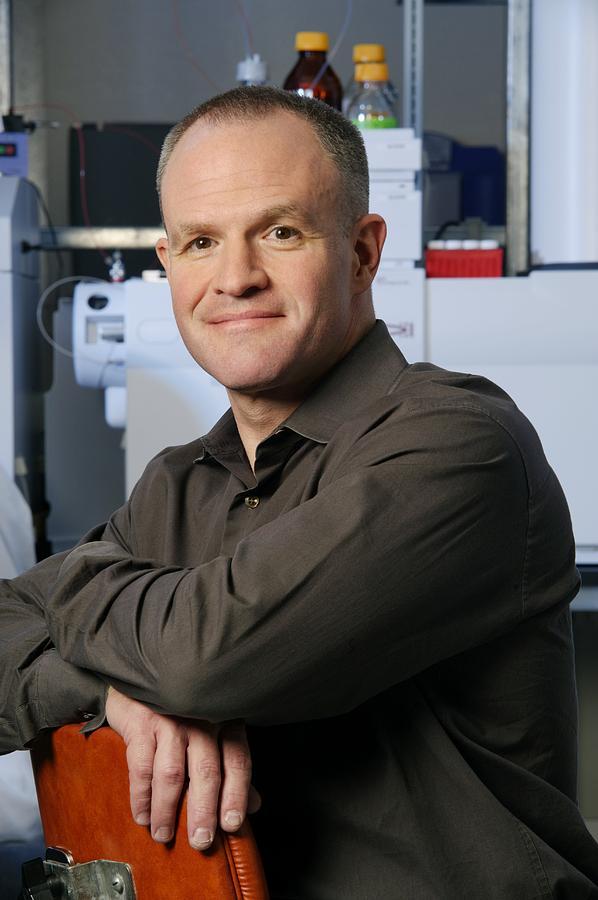 Jay Keasling Photograph - Jay Keasling, Us Scientist by Volker Steger